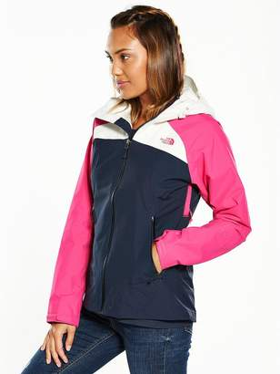 The North Face Stratos Jacket - Navy/Pink/White