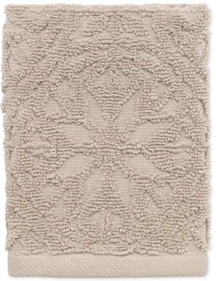 Avanti Laundry by Shelli Segal Interlock Cotton Washcloth