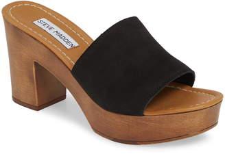 Steve Madden Fran Platform Slide Sandal