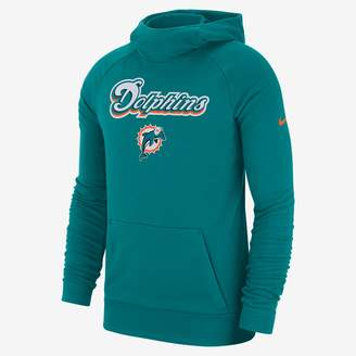 Nike Dri-FIT (NFL Dolphins) Men's Pullover Hoodie