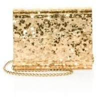 Jimmy Choo Candy Metallic Mini Paillette Clutch