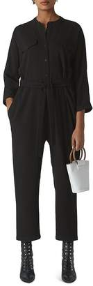 Whistles Utility Crepe Jumpsuit