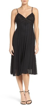 Women's Eci Beaded A-Line Dress $168 thestylecure.com