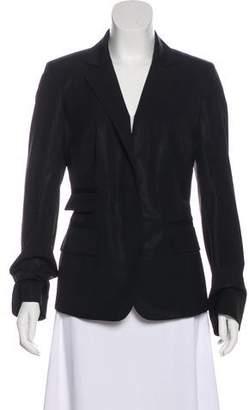 Kaufman Franco KAUFMANFRANCO Long Sleeve Wool Blazer