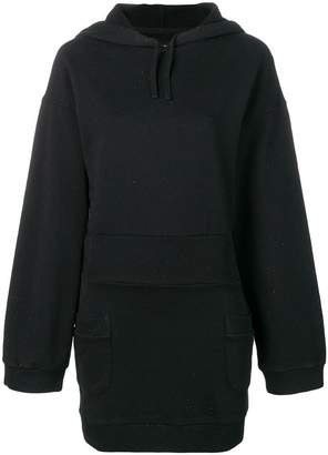 Faith Connexion hooded sweat dress
