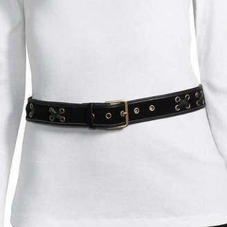 Libby Edelman Velvet Lace Belt