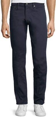 Ralph Lauren 5-Pocket Slim-Leg Washed-Denim Jeans