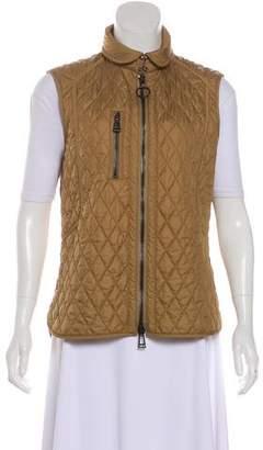 Belstaff Quilted Zip-Up Vest