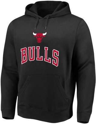 Majestic Men's Chicago Bulls Pull-Over Hoodie