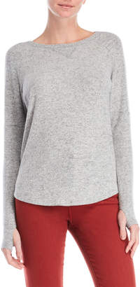 Sweet Romeo Long Sleeve Thumbhole Sweater