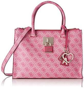 f59075b4e3a19 GUESS Women s Downtown Cool Status Satchel Top-Handle Bag