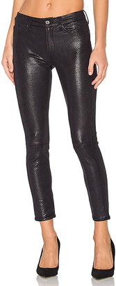 7 For All Mankind The Knee Seam Ankle Skinny $219 thestylecure.com