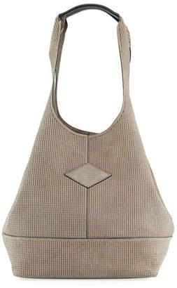 Rag & Bone Camden Stitched Suede Shopper Tote Bag