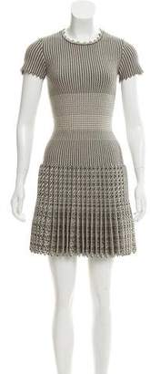 Alaia Jacquard Wool Dress