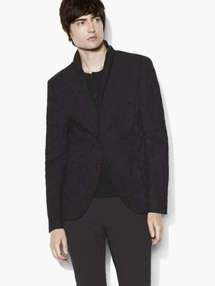 John Varvatos Jacquard Soft Jacket