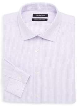Saks Fifth Avenue Cotton Check Sportshirt