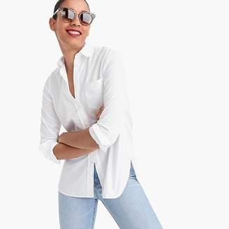J.Crew Petite classic-fit boy shirt in cotton poplin
