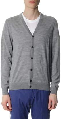 Ermenegildo Zegna Grey Wool Vest