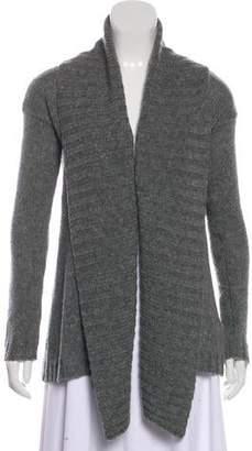 Calypso Wool Open-Front Cardigan