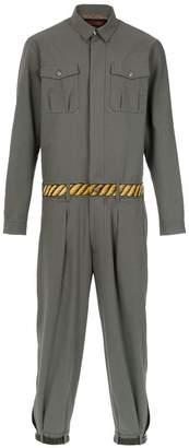 771f05ccd95d4 À La Garçonne handpainted belted jumpsuit