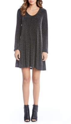 Karen Kane Sparkle Knit Shift Dress