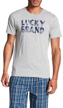Lucky Brand Short Sleeve Crew Neck Tee $21.50 thestylecure.com