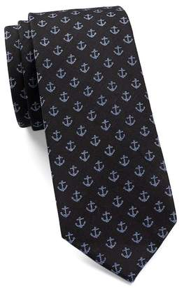 Ben Sherman Novelty Anchor Tie $55 thestylecure.com