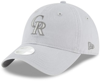 New Era Women's Colorado Rockies 9TWENTY Glisten Adjustable Cap