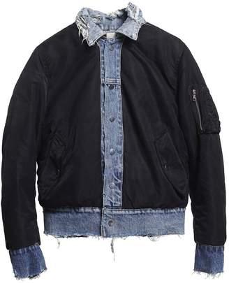 Amiri Reversible trucker bomber jacket