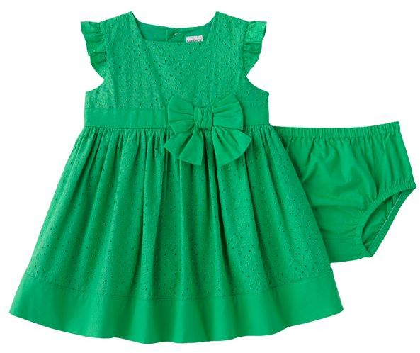 Carter's® Bow-Accent Eyelet Dress