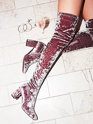Free People Parkway Thigh High Boot $198 thestylecure.com