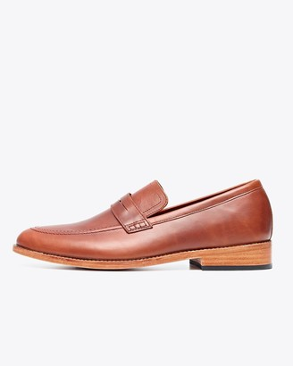 Nisolo Chamberlain Penny Loafer Brandy