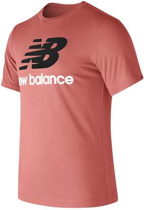 New Balance Men's Stacked Logo Tee