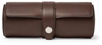 Brunello Cucinelli Leather Watch Roll