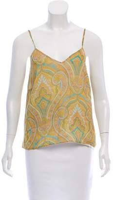Burberry Printed Silk Top