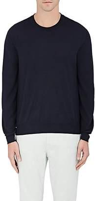 Brioni Men's Wool-Blend Sweater - Navy