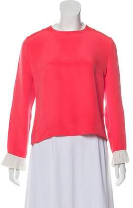 Roksanda Silk Long Sleeve Blouse