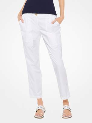 MICHAEL Michael Kors Cotton-Twill Cargo Pants