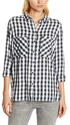 ... Tom Tailor Women s Cosy Flannel Check Blouse Shirt,(Manufacturer size   X-Small fd439bc50c