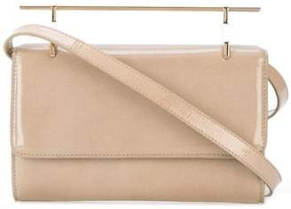 M2Malletier metallic handle crossbody bag