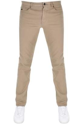 BEIGE Boss Casual BOSS Casual Delaware Slim Fit Jeans
