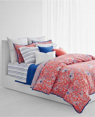 Lauren Ralph Lauren Alexis Cotton Reversible 3-Pc. Full/Queen Duvet Set Bedding