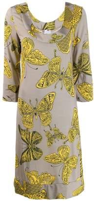 Ultràchic butterfly print dress