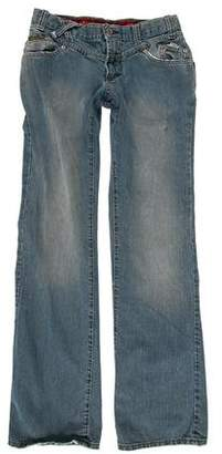 Dolce & Gabbana Distressed Low-Rise Jeans