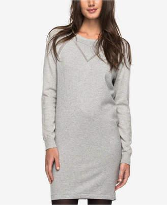 Roxy Juniors' Cotton Sweatshirt Dress