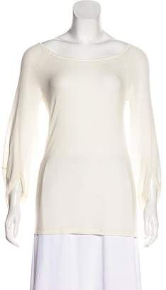 Elizabeth and James Long Sleeve Jersey Top