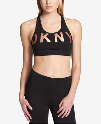 DKNY Sport Logo Graphic Sports Bra
