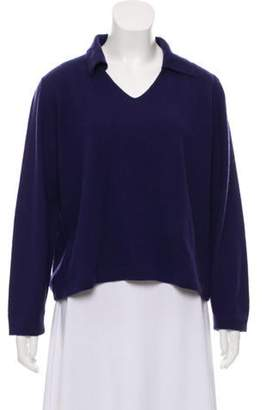 Malo Lightweight Cashmere Sweater Blue Lightweight Cashmere Sweater
