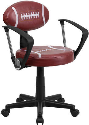 Asstd National Brand Sports Swivel Task Chair with Arms