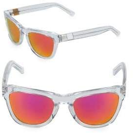 Westward Leaning Pioneer 53MM Transparent Sunglasses